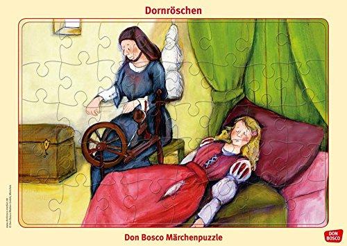 Dornröschen. Puzzle. Don Bosco Märchenpuzzle (Don Bosco Märchenpuzzle für Familie und Kindergarten)