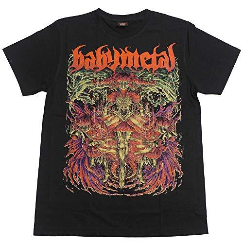 BABYMETAL ロック アメリカ 流行 欧米風 音楽 Tシャツ メンズ/レディース Tシャツ/夏服 スポーツ プリント 半袖 個性的 通気性 快適 ゆったり ファッション