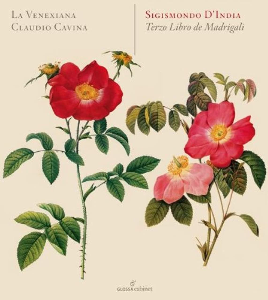 INDIA S. Terzo Libro De Madrigali Other Choral Music