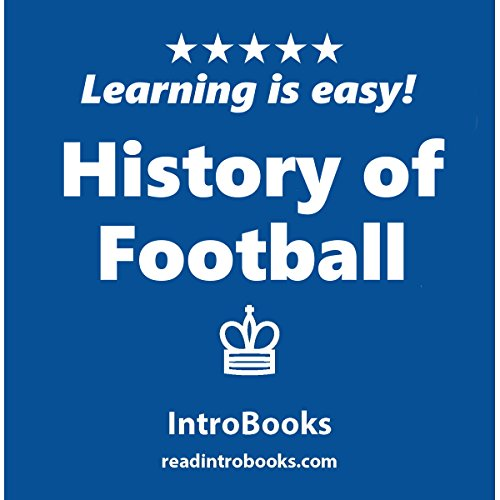 History of Football audiobook cover art