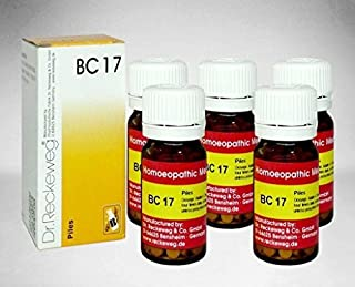5 Pack X Dr.Reckeweg-Germany Biochemic Combination Tablet BC- 17 Homeopathic Medicine