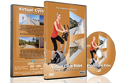 Virtual Cycle Rides DVD - Algarve - for Indoor Cycling, Treadmill and Running Workouts
