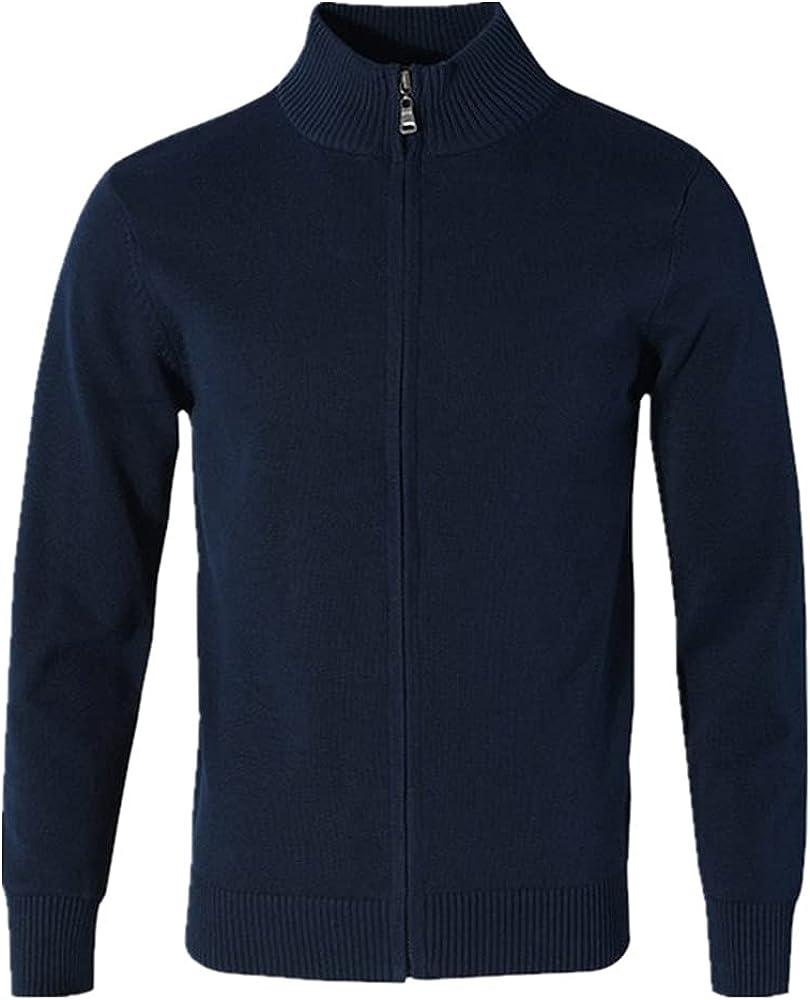 NP Autumn Winter Men's Sweater Coat Sweater Men Zipper Knitted Thick Coat Casual