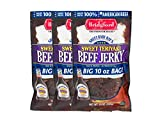 Bridgford Sweet Baby Ray's Original Beef Jerky, High Protein, Zero Trans Fat, Made With 100%...