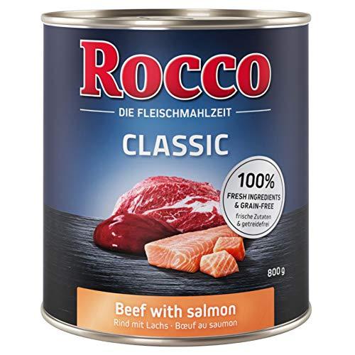Rocco Classic Rindfleisch mit Lachs 24 x 800g