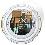 atFoliX Bildschirmfolie kompatibel mit Beurer AS 50 Spiegelfolie, Spiegeleffekt FX Schutzfolie
