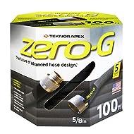 """zero-G 4001-100 Garden Hose, 5/8"""" x 100', Gray"""