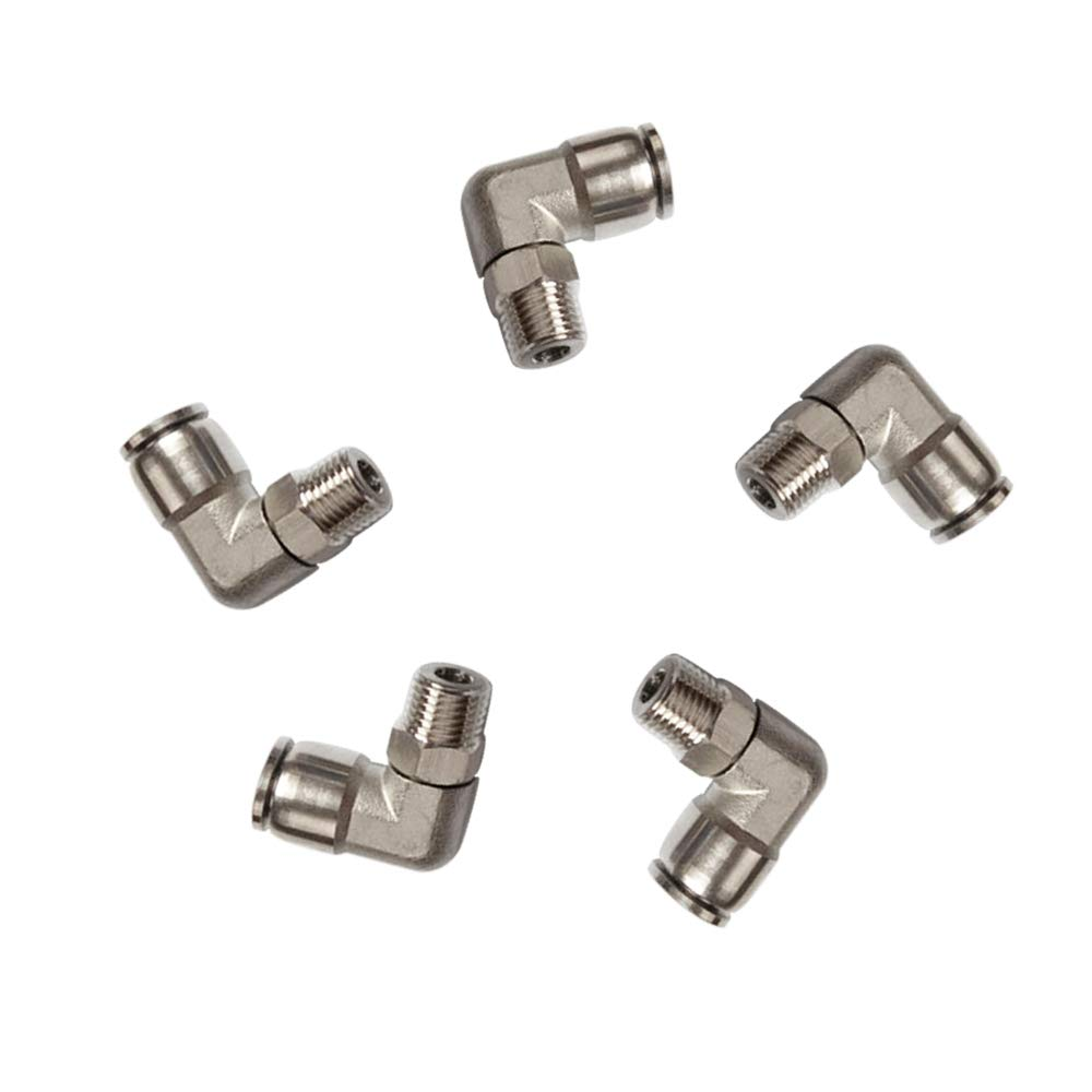 Pack of 1 Tailonz Pneumatic 304 Stainless Steel Straight 3//8 Tube OD Push to Connect Tube Fittings Push Lock PU-3//8