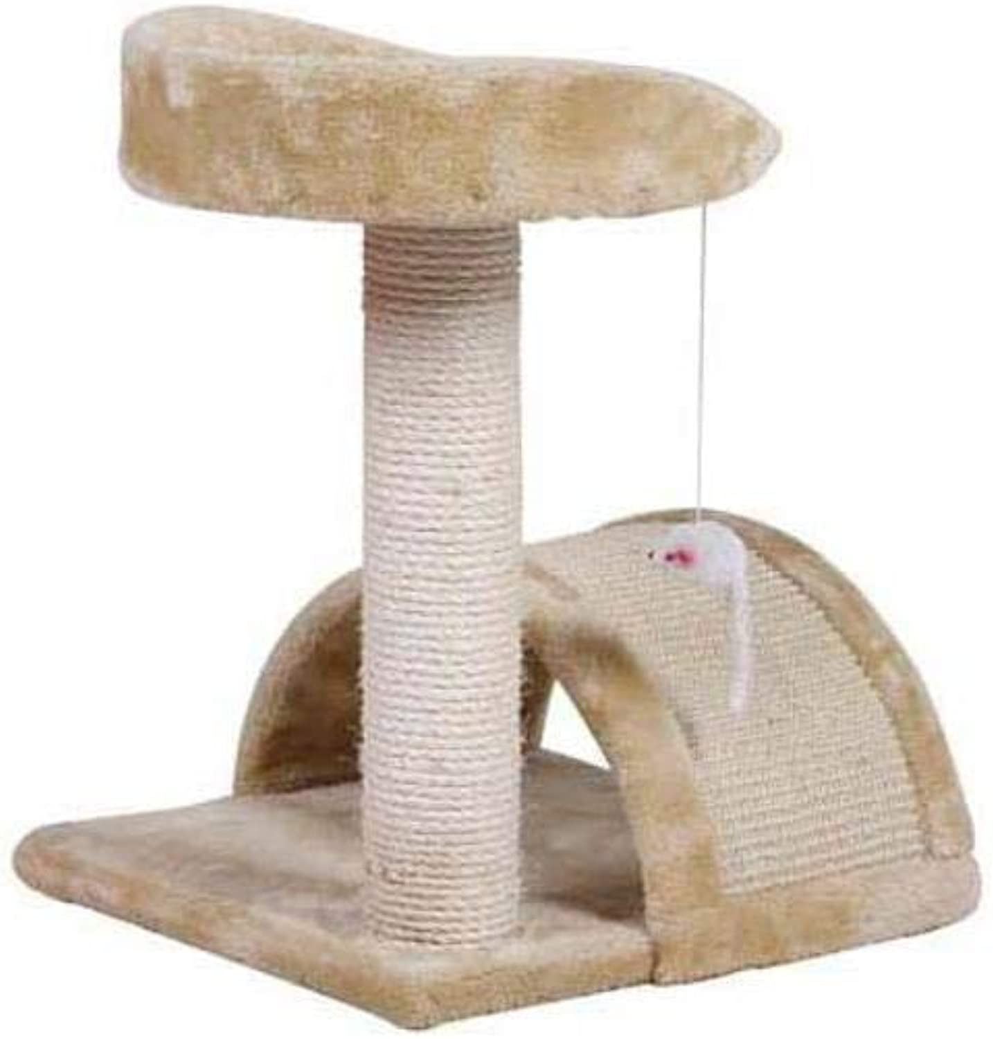 Aoligei Cat Play Towers & Trees Station Sisal Corrugated Cat Scratch Board sisal cat cat Nest Cat Toy 38  36  50cm