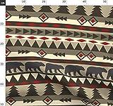 Bär, Aztekisch, Südwestlich, Rustikal, Indianer, Western