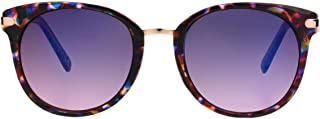 Foster Grant Women's SFGF19024 Flo' Sunglasses, Pink and Purple, One Size