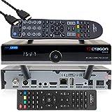OCTAGON SF8008 4K UHD HDR Hybrid DVB-S2X & DVB-C/ DVB-T2 Hybrid Tuner – Satellite, cavo e segnale terrestre, con telecomando doppio, cavo HDMI e Dual WiFi