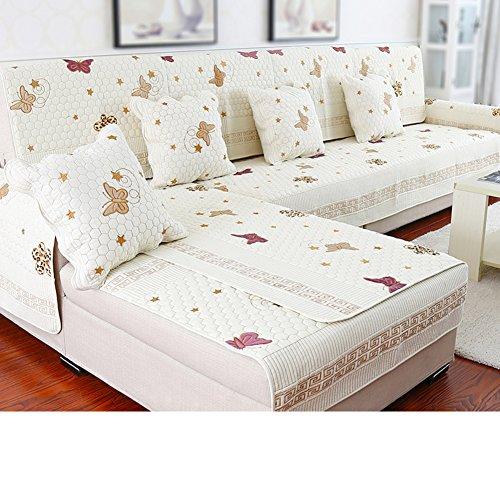 KE Sofa Slipcovers Engrosamiento Antideslizante sofá Mat-O 70x210cm(28x83inch)
