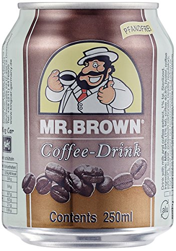 Mr. Brown Coffee Drink, 24er Pack (24 x 250 ml)