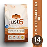 Rachael Ray Nutrish Just 6 Natural Premium Dry Dog Food, Limited...
