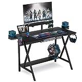Tribesigns Computer Desk Gaming Desk Writing Workstion Study Desk PC Notebook Laptop Computer