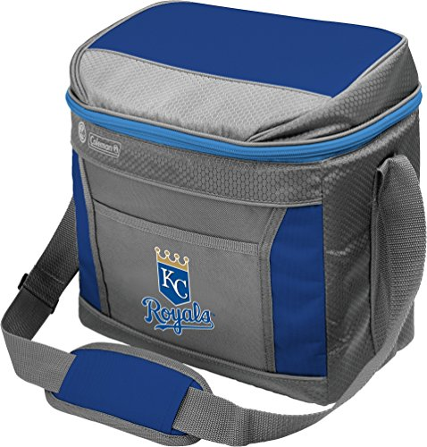 Coleman MLB Soft-Sided Insulated Cooler Bag, 16-Can Capacity, Kansas City Royals