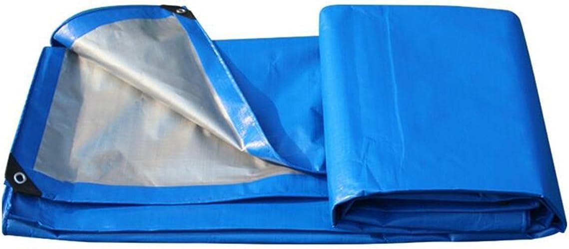 Bache imperméable à l'eau de bache imperméable de bache de couverture de bache de bache de bache de couverture de bache extérieure de camping - 200g   m2 - épaisseur 0.31mm (taille   8MX10M)
