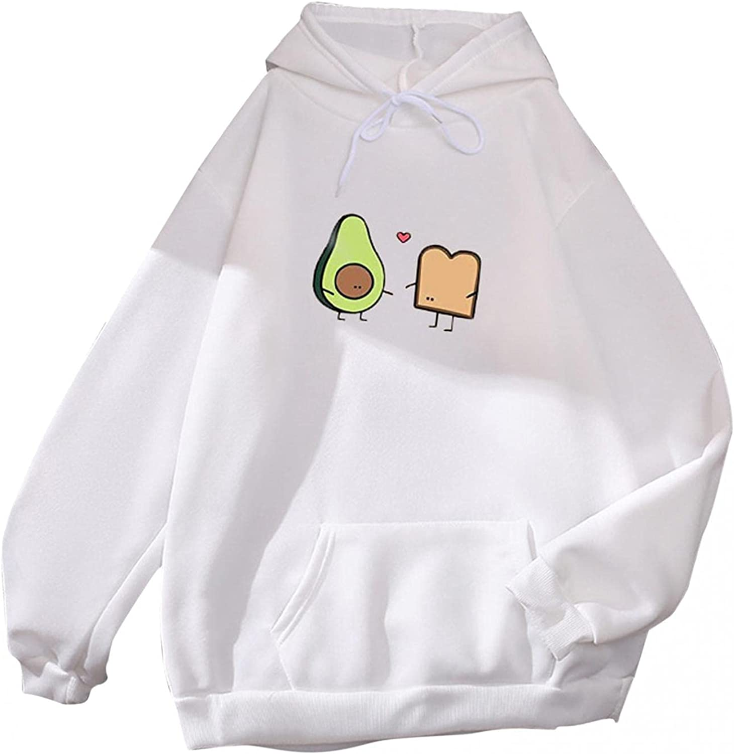 Gerichy Hoodies for Women, Women's Long Sleeve Drawstring Fall Hoodies Cute Plus Size Sweater Cool Hoodies with Pocket