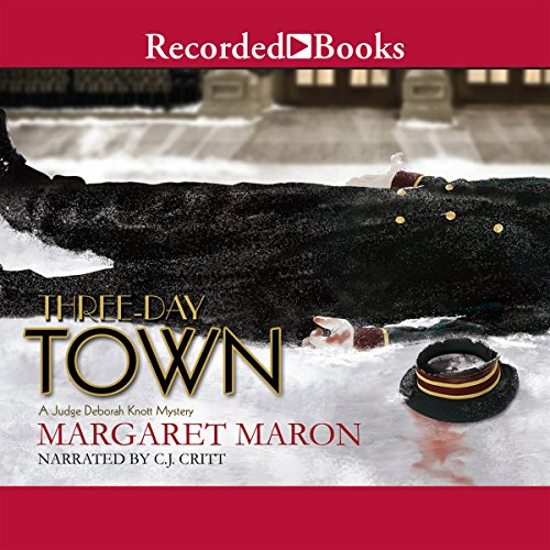 Three-Day Town audiobook cover art