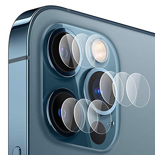 Lens Fotocamera Pellicola Protettiva in Vetro Temperato per Apple Iphone 12 PRO MAX [3 Pezzi], 9H Antigraffio HD, Pellicola Protettiva per Telecamera Posteriore Iphone 12 PRO MAX