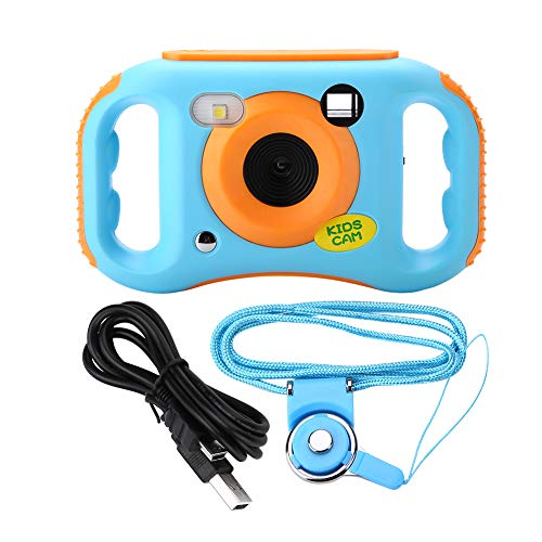 Pinsofy Kids Digital Camera, Supports TV Output Kids Camera, Support WiFi for Boys Girls Birthday Gifts Children Toy Camcorder Best Birthday Gift Toys