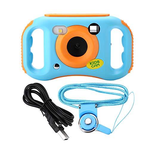 Qiterr Kinderspielzeugkamera, 1,77 Zoll Bildschirm HD 1080P WiFi Kinder Digitale Videokamera Kinderspielzeug Camcorder