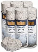 6x Belton Granito de efecto de spray 400ml Sandstein