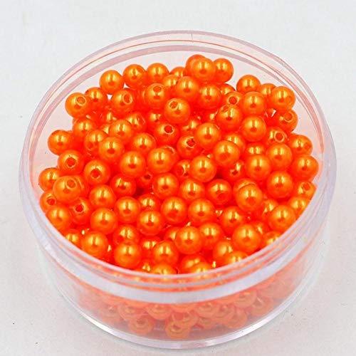 3/4/6/8/10 mm 80-1000 stks/partij Ronde 19 Kleuren Imitatie Parels Kralen Ambachten Decoratie Voor DIY Armbanden Kettingen Sieraden Maken
