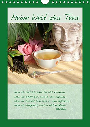 Meine Welt des Tees (Wandkalender 2021 DIN A4 hoch)
