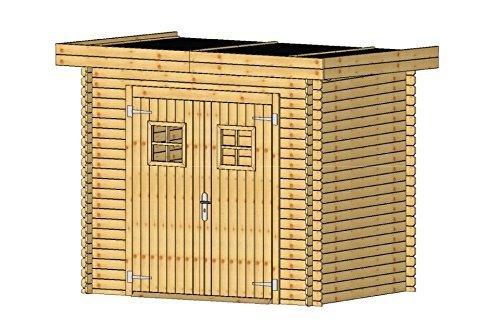 Fonteyn Gartenhaus/Blockhütte Mandy Hochdruck-Imprägniert 250 x 200 cm