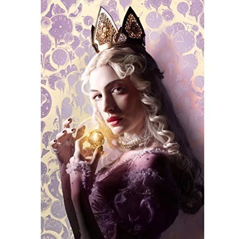 DPFRY Leinwand Malerei Wandkunst Bild Alice Im Wunderland Poster Drucken Leinwand Malerei Ohne Rahmen 40 * 60 cm