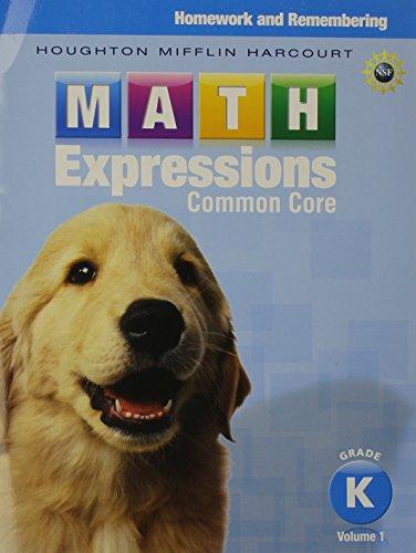 Math Expressions Homework Remembering Volume 1 Grade K