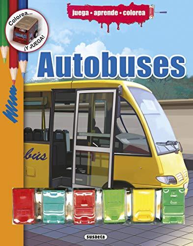 Autobuses (Colorea y juega)