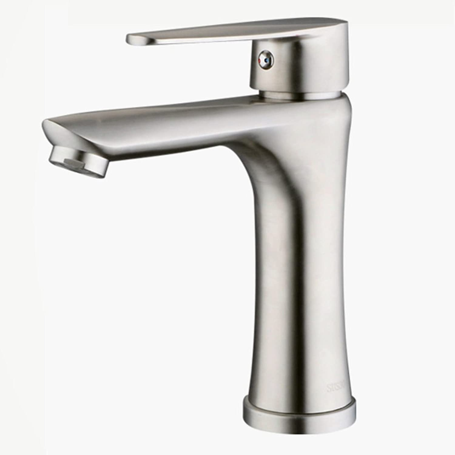 Bathroom Basin Stainless Steel Hot And Cold Mixer Tap Basin Faucet