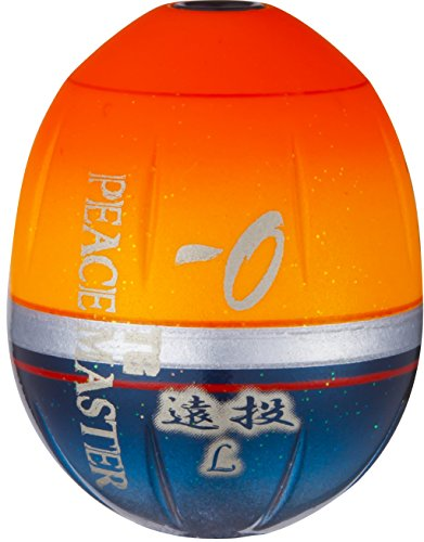 デュエル(DUEL) 磯(ウキ): TGピースマスター 遠投 L 1.0 SO: シャイニングオレンジ
