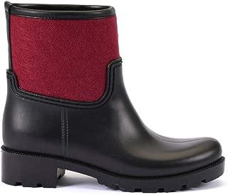 ESEM B0006 Yağmur Botu Kadın Ayakkabı Bordo