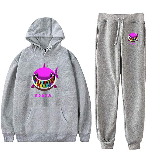 WAWNI 6ix9ine - Conjunto de sudadera con capucha y pantalones de estilo hip hop