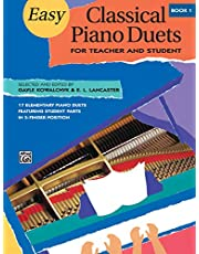 Easy Classical Piano Duets 1 (Alfred Masterwork Editions)