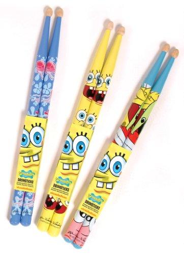 JHS & Co Ltd Spongebob Drumsticks (Junior-Größe) (1 Paar)