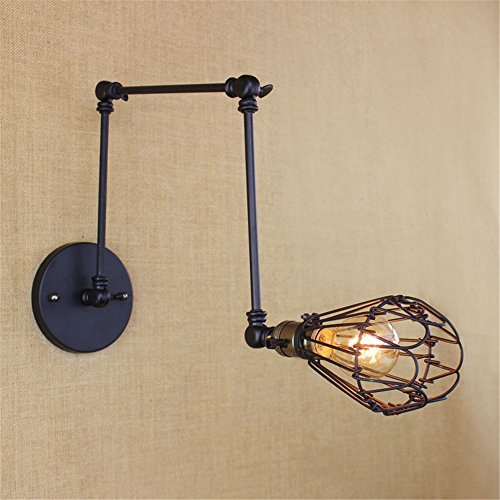 JJZHG wandlamp wandlamp waterdichte wandverlichting gang trappenhal van de lange arm creatieve restaurantbar-wandlamp van de retro-eettafel bevat: wandlamp