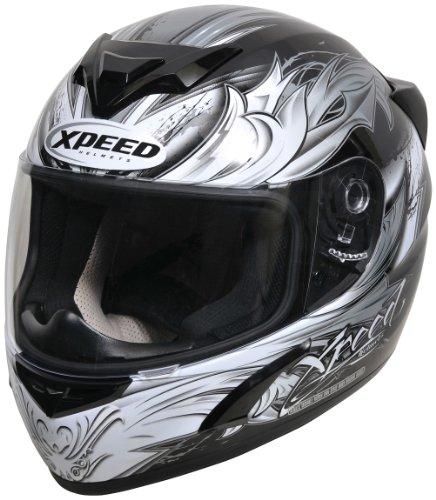 Xpeed XP 509B Valor, Silber, Größe XL
