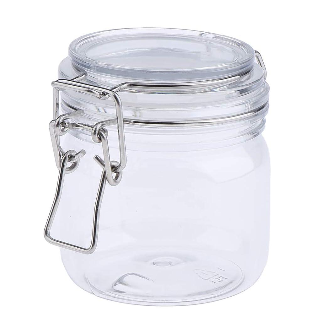 争う悪いアクチュエータP Prettyia 化粧品容器 マスクジャー スプーン付き 耐久性 詰め替え 3サイズ選べ - 500g