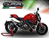 ESCAPE GPR EXHAUST SYSTEM COMPATIBLE CON DUCATI MONSTER 821 2015/16 ESCAPE HOMOLOGADO Y TUBO CONEXIÓN POWERCONE EVO