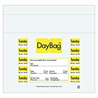 DayMark Day of The Week Trilingual Portion Bag、25.4cm x 21.5cm (2000枚入り) IT110917 2000