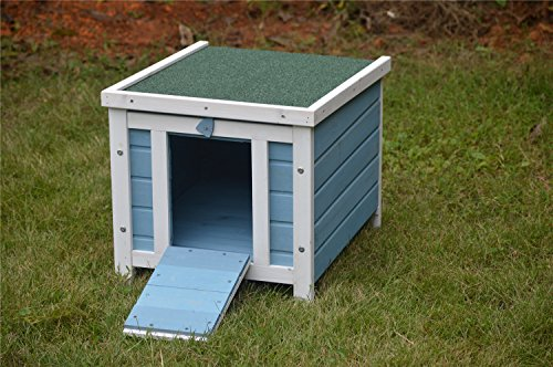 Bunny Business Cat Wooden Hide House