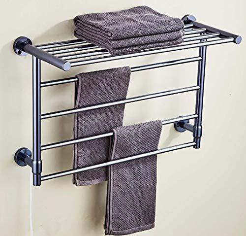 Toallero radiador Rail, toalla eléctrico tendedero estante,...