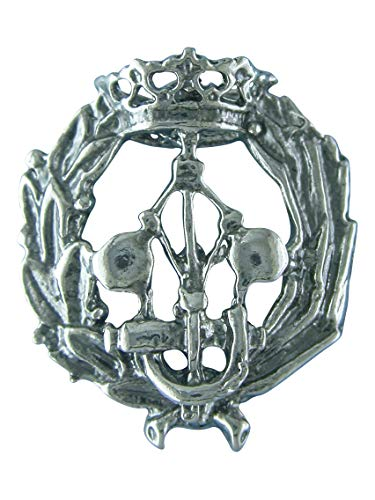 Alylosilver Insignia Profesional de Ingeniero Industrial Pin para Hombre Mujer en Plata 925 con Caja para Regalo.