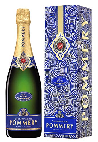 Pommery Brut Royal Champagner in Geschenkverpackung, saisonale Ausstattung Champagner, 0.75 l