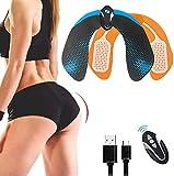 Nowten ABS Stimulator Hips Trainer, Hip Trainer Buttocks Lifting Muscle Stimulator Gear Home Office Workout Equipment Ab Machine for Women Men